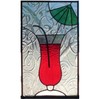 umbrella cocktail panel