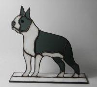 "Boston Terrier 6.5"" x 6.5"""