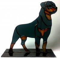 """Rottweiler 8""""x8"""""""
