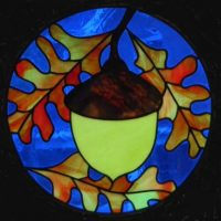 "acorn circle panel 12.5"""