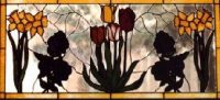 custom order flower window