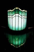 stained glass table lamp