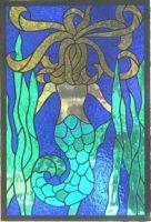 "mermaid 12.5"" x 19"""