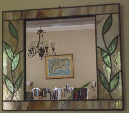 Very stained glass mirrors JX17