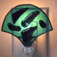 "Stained Glass Night Light 4"" x 4"""