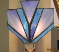 "Stained Glass Night Light 5"" x 6"""