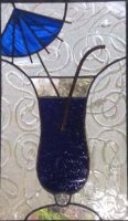 "stained glass cocktail 9"" x 15.5"""