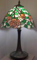 """pink rose Lamp 15"""" diameter"""