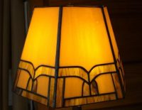 "Lamp Shade 12.5"" diameter 8"" high"