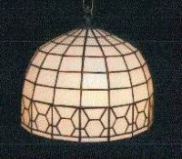 "stained glass lamp shade 10"" diameter"