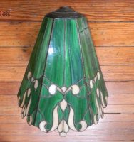 "lamp shade 11"" tall 10"" diameter"