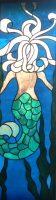"Mermaid 11 1/2"" x 37"""