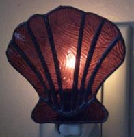 "Stained Glass Night Light 3"" x 4"""