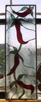 stained glass chili peppers