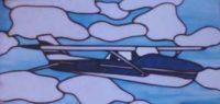 custom glass plane panel