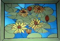 water lily window