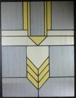 "stained glass window 21"" x 27"""