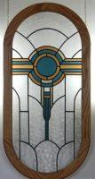 "stained glass iwndow 18"" x 37"""