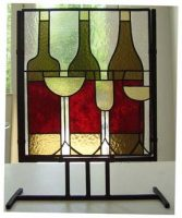 stained glass stand