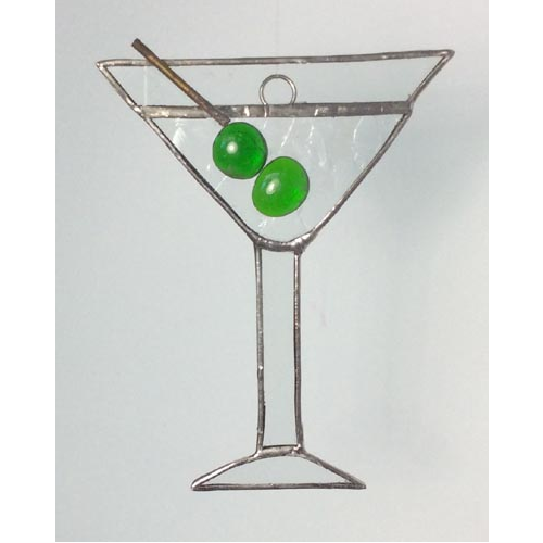double olive martini