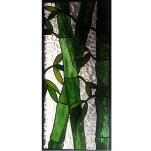 stained glass bamboo